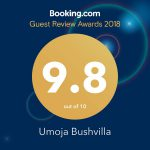 Booking.com award of excellence 9.8